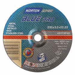 Disque métal pour meuleuse NORTON, Diam.230 x Ep.2.5 mm de marque NORTON, référence: B5822600