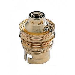 Douille électrique b22 à vis acier doré DEBFLEX de marque DEBFLEX, référence: B5823700