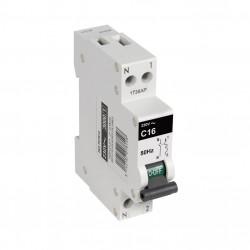 Disjoncteur phase + neutre DEBFLEX 16 A de marque DEBFLEX, référence: B5824100