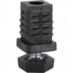 Embout carré à enfoncer plastique à emboîter H.25 x l.25 mm de marque HETTICH, référence: B5828200
