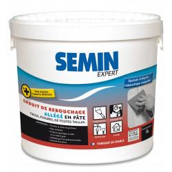 Enduit de rebouchage SEMIN 1 kg en pâte, pour mur intérieur de marque SEMIN, référence: B5830100