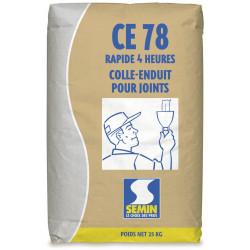 Enduit joint plaque plâtre CE78 4H SEMIN, poudre 25kg de marque SEMIN, référence: B5830900