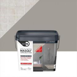 Enduit Masqu'carrelage et mur MAISON DECO, Gris urbain, 9 kg de marque MAISON DECO, référence: B5831600