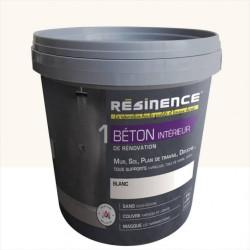 Enduit, Béton RESINENCE, blanc, 4 kg de marque RESINENCE, référence: B5832200
