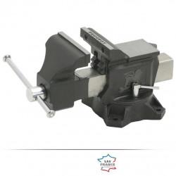 Étau en fonte sur base tournante PEUGEOT, 125 mm de marque PEUGEOT, référence: B5839500