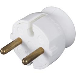Fiche électrique mâle 2 pôles, 16 A, LEGRAND de marque LEGRAND, référence: B5843100