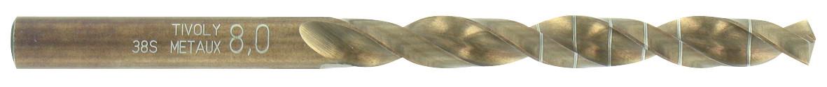 Foret technic métal, Diam.4.5 mm TIVOLY