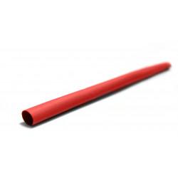 Gaine thermorétractable rouge, L.1 m, Diam.6.4 mm, ZENITECH de marque ZENITECH, référence: B5859100