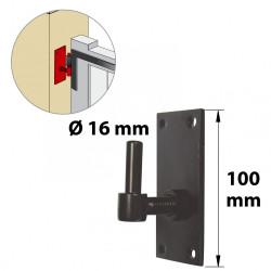 Gond acier prépeint, H.130x Diam.16 mm de marque AFBAT, référence: B5861500