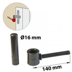 Gond chimique acier prépeint, H.80x Diam.16 mm de marque AFBAT, référence: B5862700