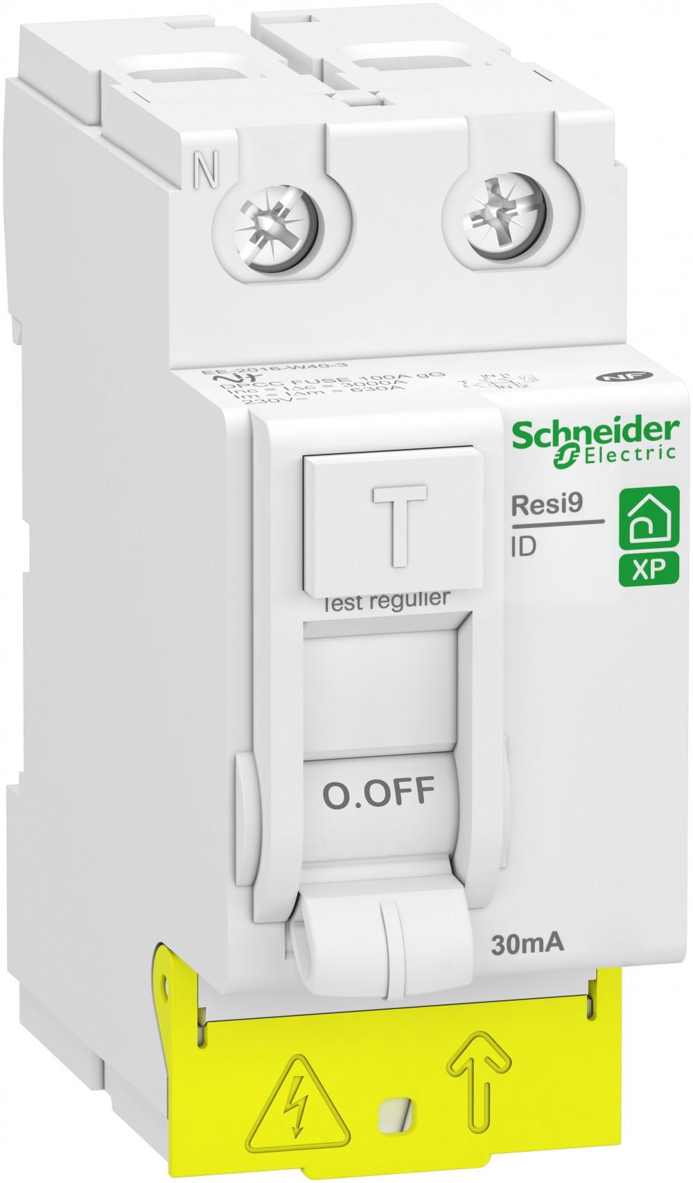 Interrupteur différentiel SCHNEIDER ELECTRIC, 30 mA 40 A AC
