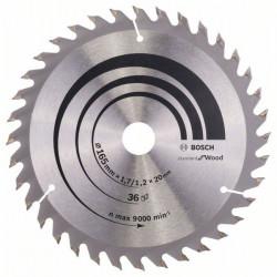 Lame bois coupe fine et nette BOSCH Scie circulaire 165 mm 36 dents de marque BOSCH PROFESSIONAL, référence: B5881600
