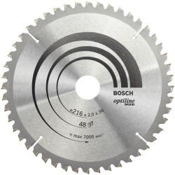 Lame coupe fine et nette BOSCH Optiline pour finition bois de marque BOSCH, référence: B5882300