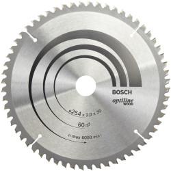 Lame coupe fine et nette BOSCH Optiline pour finition bois de marque BOSCH, référence: B5882400