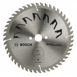 Lame coupe fine et nette BOSCH Précision pour finitions du bois de marque BOSCH, référence: B5882700