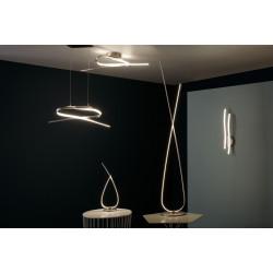 Lampadaire LED Symphonie EGLO, 141 cm, blanc, 28 W de marque Eglo, référence: B5884600