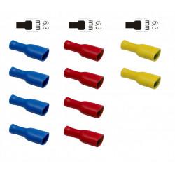 Lot de 10 cosses clips femelles ZENITECH de marque ZENITECH, référence: B5898800