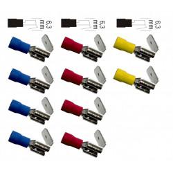 Lot de 10 cosses clips ZENITECH de marque ZENITECH, référence: B5899100