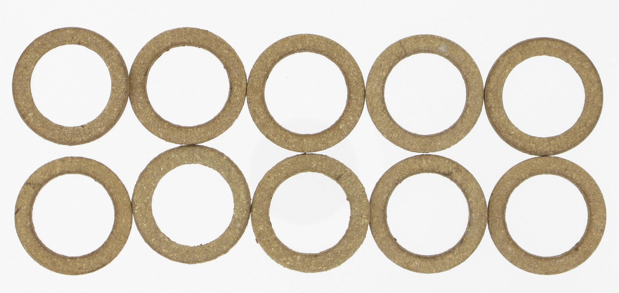 Lot de 10 joints cuir, 12/17 mm COMAP