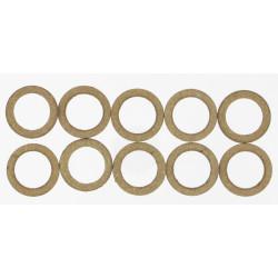 Lot de 10 joints cuir, 15/21 mm COMAP de marque COMAP, référence: B5900800