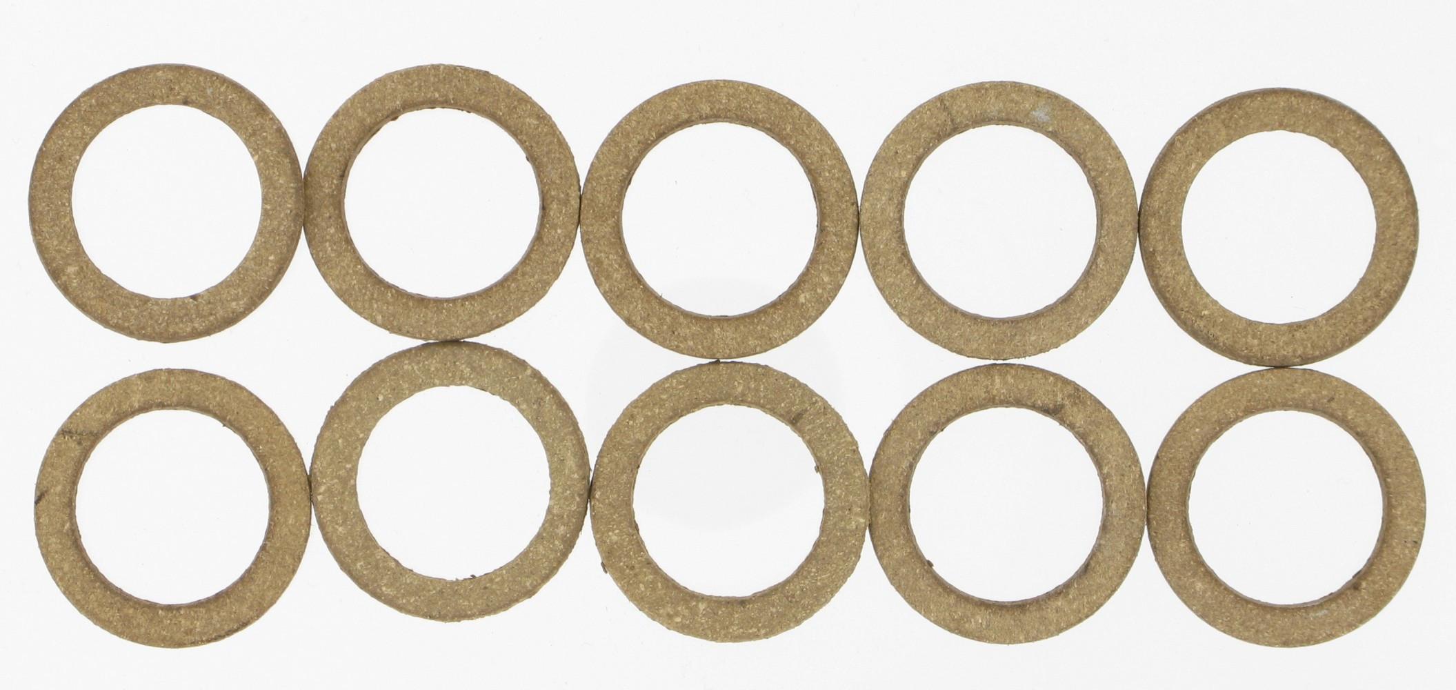 Lot de 10 joints cuir, 15/21 mm COMAP