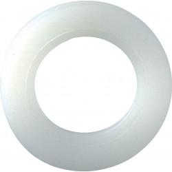 Lot de 10 rondelles nylon plastifié, H.25 x L.25 x P.3 mm de marque AFBAT, référence: B5903900