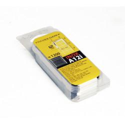 Lot de 1200 agrafes fil fin FISCHER DAREX A12i de marque FISCHER DAREX, référence: B5905700