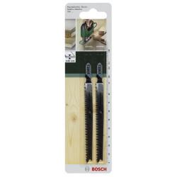 Lot de 2 lames coupe fine et nette BOSCH T234x pour bois massifs de marque BOSCH, référence: B5916000