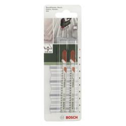 Lot de 2 lames coupe fine et nette BOSCH T308bf spéciale parquet et stratifié de marque BOSCH, référence: B5916100