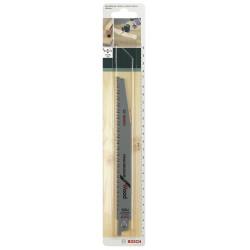 Lot de 2 lames coupe multimatériau BOSCH S2345x pour scie sabre ou égoïne de marque BOSCH, référence: B5916400