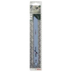 Lot de 2 lames coupe multiusage BOSCH S1122bf pour tôle épaisse de marque BOSCH, référence: B5916500