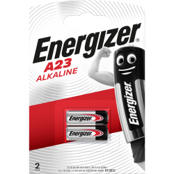 Lot de 2 minipiles alcaline a23/mn21/v23ga, 12 V, ENERGIZER de marque ENERGIZER, référence: B5918100