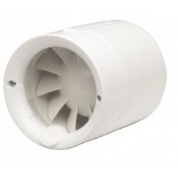Aérateur extracteur intercalé à interrupteur S&P SILENTUB 100 mm de marque S&P, référence: B5921900
