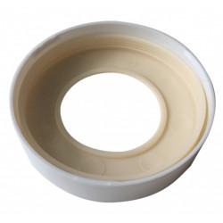 Bague et joint pipe wc rigide, pour sortie de cuvette, WIRQUIN l.2.4 x H.22.5 de marque WIRQUIN, référence: B5922800