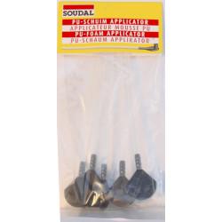 Lot de 5 canules pour mousse expansive SOUDAL de marque SOUDAL, référence: B5925100