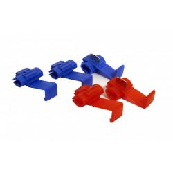 Lot de 5 cosses clips ZENITECH de marque ZENITECH, référence: B5927800
