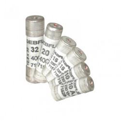 Lot de 6 fusibles céramique 10/16/20/32 A de marque DEBFLEX, référence: B5936200