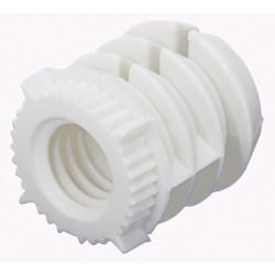 Lot de 8 manchons à enfoncer plastique brut HETTICH, l.12 mm de marque HETTICH, référence: B5940800
