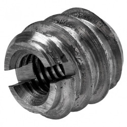 Lot de 8 manchons à visser acier brut HETTICH, l.12 mm de marque HETTICH, référence: B5941000