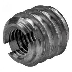 Lot de 8 manchons à visser acier brut HETTICH, l.14 mm de marque HETTICH, référence: B5941100