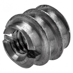 Lot de 8 manchons à visser acier brut HETTICH, l.8 mm de marque HETTICH, référence: B5941200