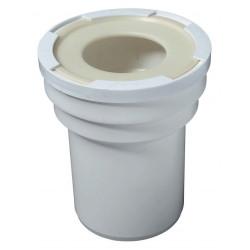 Manchon 100 mm pour sortie de cuvette de WC Diam.10 cm WIRQUIN de marque WIRQUIN, référence: B5946700