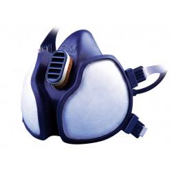 Masque de protection phytosanitaire filtres intégrés A2P3 3M de marque 3M, référence: B5950000