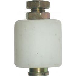 Olive nylon brut, H.65 x L.25 x P.25 mm de marque AFBAT, référence: B5966700