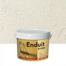 Peinture à effet Enduit à cirer ID, blanc, 15 kg de marque ID, référence: B5976900