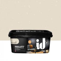 Peinture à effet, Paillett', beige hollywood, 2 l de marque ID, référence: B5979300