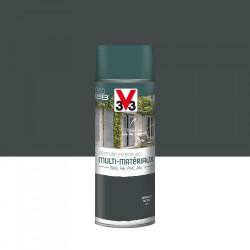 Peinture aérosol Extérieur multi-matériaux V33, anthracite satiné, 0.4 l de marque V33, référence: B5979900