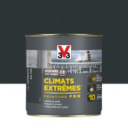 Peinture fer extérieur Climats extrêmes® V33 anthracite mat 0.5 l de marque V33, référence: B5995300
