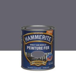 Peinture fer extérieur Direct sur rouille HAMMERITE anthracite brillant 0.75 l de marque HAMMERITE, référence: B5999500