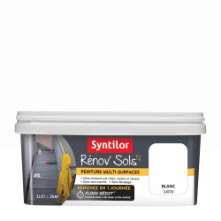Peinture intérieur Renov sol SYNTILOR, blanc, 2 l de marque SYNTILOR, référence: B6003500